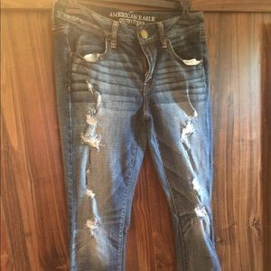 NWOT Tag American Eagle Jeans Size 6